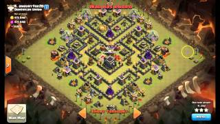 Clash of Clans - Scouting Bases - Surgical Hog 3 Star - Clan Wars