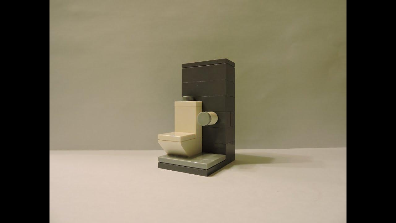 How To Make A Modern Lego Toilet Youtube