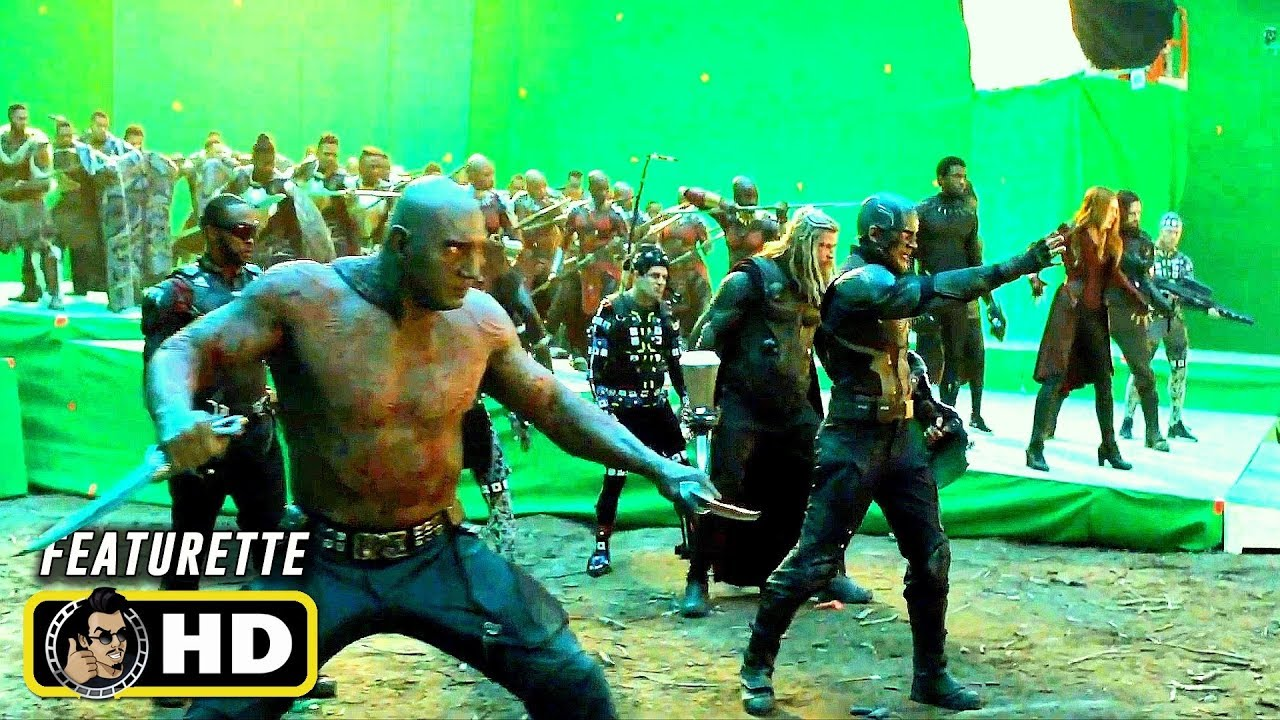 AVENGERS: ENDGAME Behind The Scenes Videos Reveal How ...