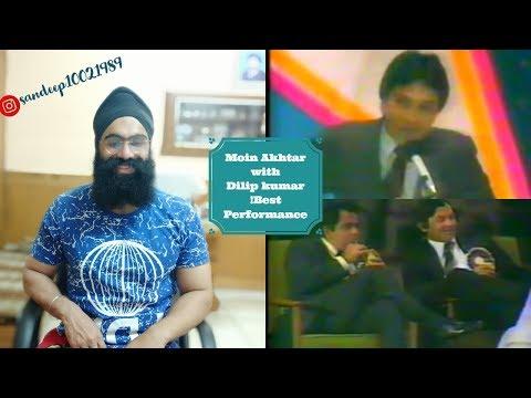 Indian Sikh Reaction !Moin Akhtar With  Dilip Kumar Best Performance !ft Punjabi Gabruus