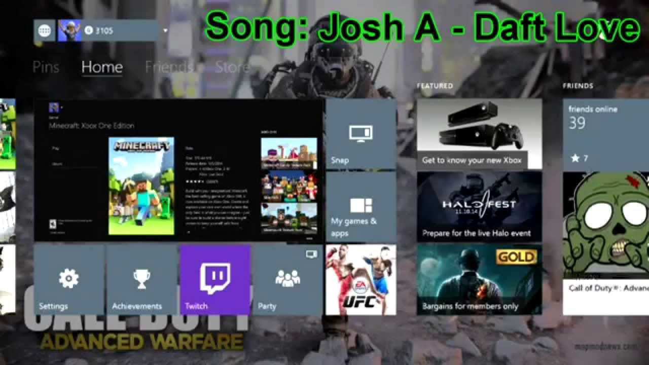 how to play youtube in background xbox one