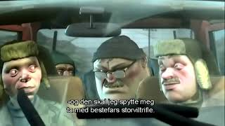 Slipp Jimmy Fri - Hold Brillan scene