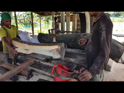 Crooked but Good Quality Wood Cutting by New Trained Workers।Crooked Wood Cutting by New Trained Men