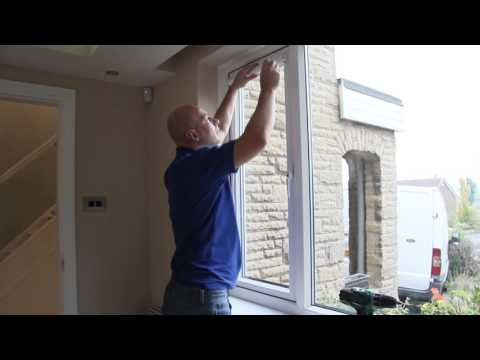 How to fit day&night blinds