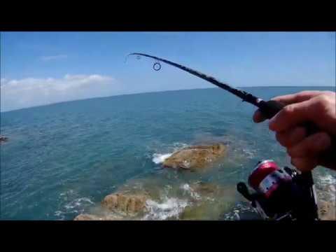 Рыбалка на море с берега 2020 . Что я поймал ???