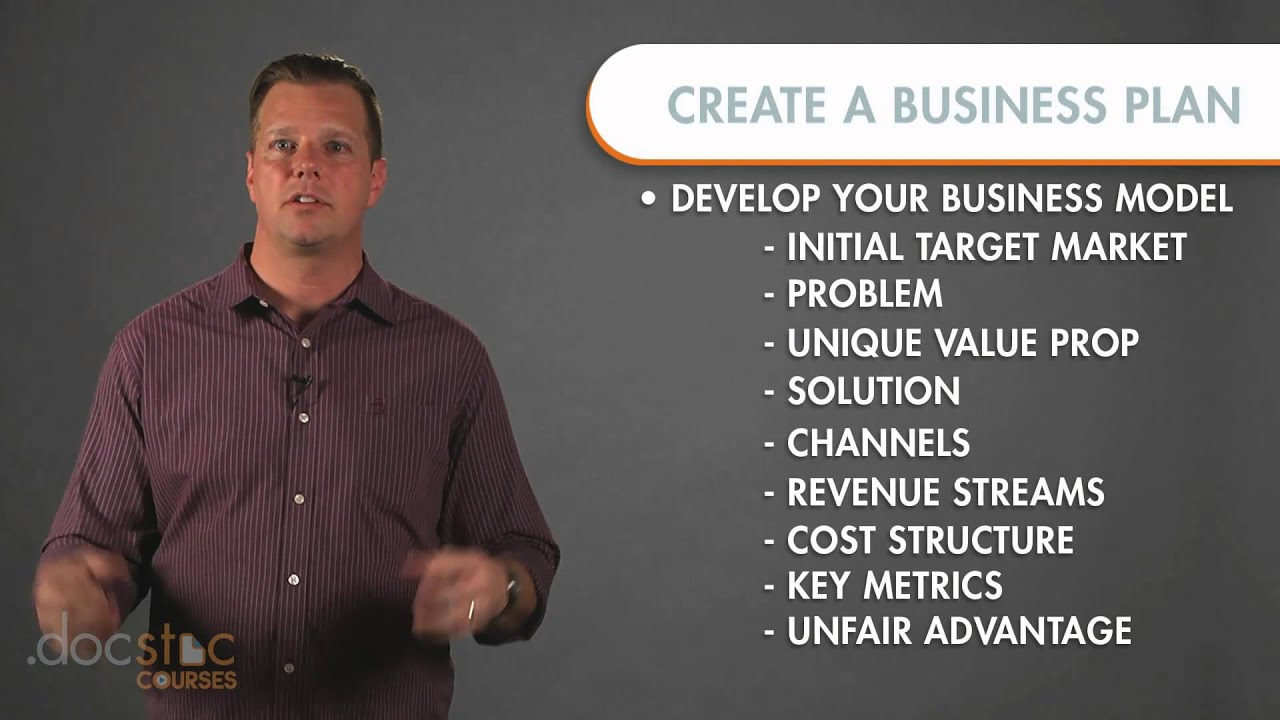How to draw up a business plan steps