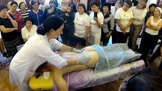 Базовый курс массажа  БИОЭНЕРГОМАССАЖЕРОМ ( ч.2)
