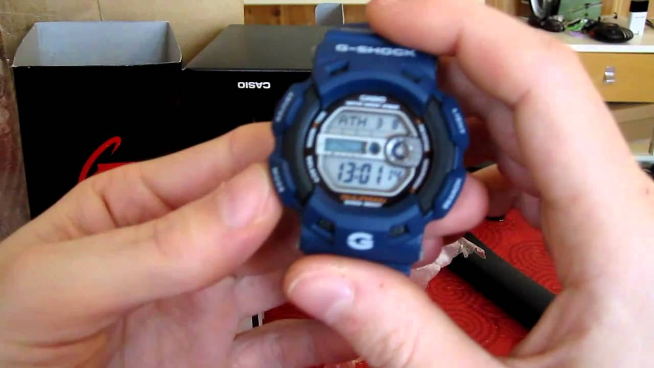 sports shoes 1ef90 5871f How to set a g shock watch 5522