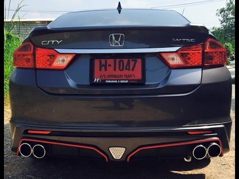 [Preview] All New Honda City 2014 ชุดแต่ง Mugen RS