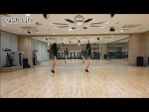 Lush Life Line Dance - Improver(Demo)⚘Fifth Choreography👭