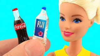 10 Cool DIY Barbie & LOL Hacks & Crafts: MINI SLIME! and more!