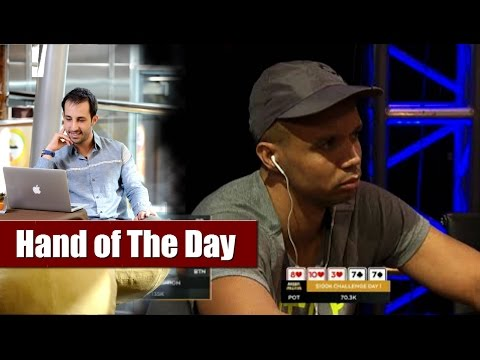 Phil Ivey vs Dario Sammartino - Poker Overbet Explained (Aussie Millions 2016) - █-█otD 55