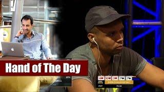 Phil Ivey vs Dario Sammartino - Poker Overbet Explained (Aussie Millions 2016) - ---otD 55