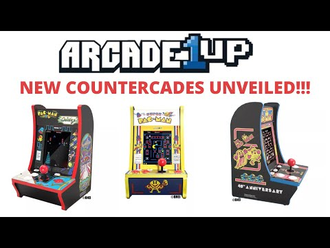 Arcade1up: New Countercades Unveiled! In Depth Look At The Pre-E3 Titles! from PsykoGamer