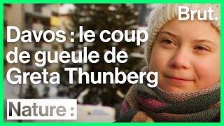 À Davos, Greta Thunberg continue de se battre pour le climat