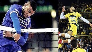 Earvin Ngapeth TOP 10 MONSTER VOLLEYBALL SPIKES !!