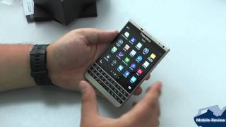 Видеообзор BlackBerry Passport Silver Edition