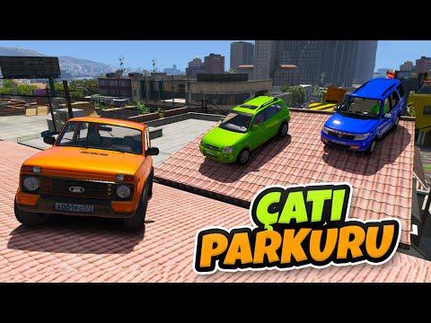 Sevimli Arkadaş Arabalar Eğlenceli Parkta Eğleniyorlar - GTA 5