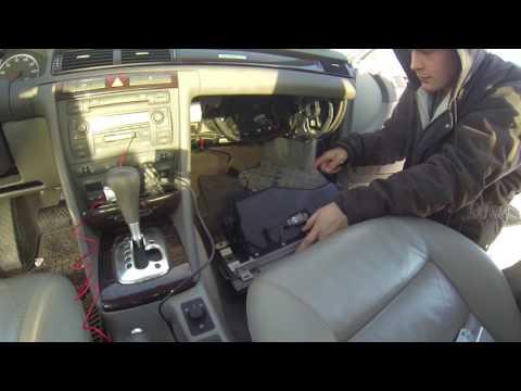 Audi A6 C5 TCM Removal