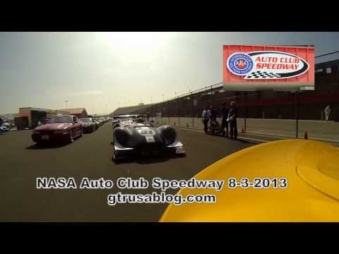 NASA Auto Club Speedway 8-3-2013 First Session