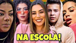 ANITTA, LUDMILLA, MC BRUNA ALVES, NAIARA AZEVEDO E MC JOTTAPÊ NA ESCOLA!