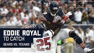 Jay Cutler to Eddie Royal for the Red Zone Score!   Bears vs. Texans   NFL