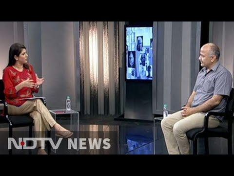 The NDTV Dialogues with Delhi education minister Manish Sisodia