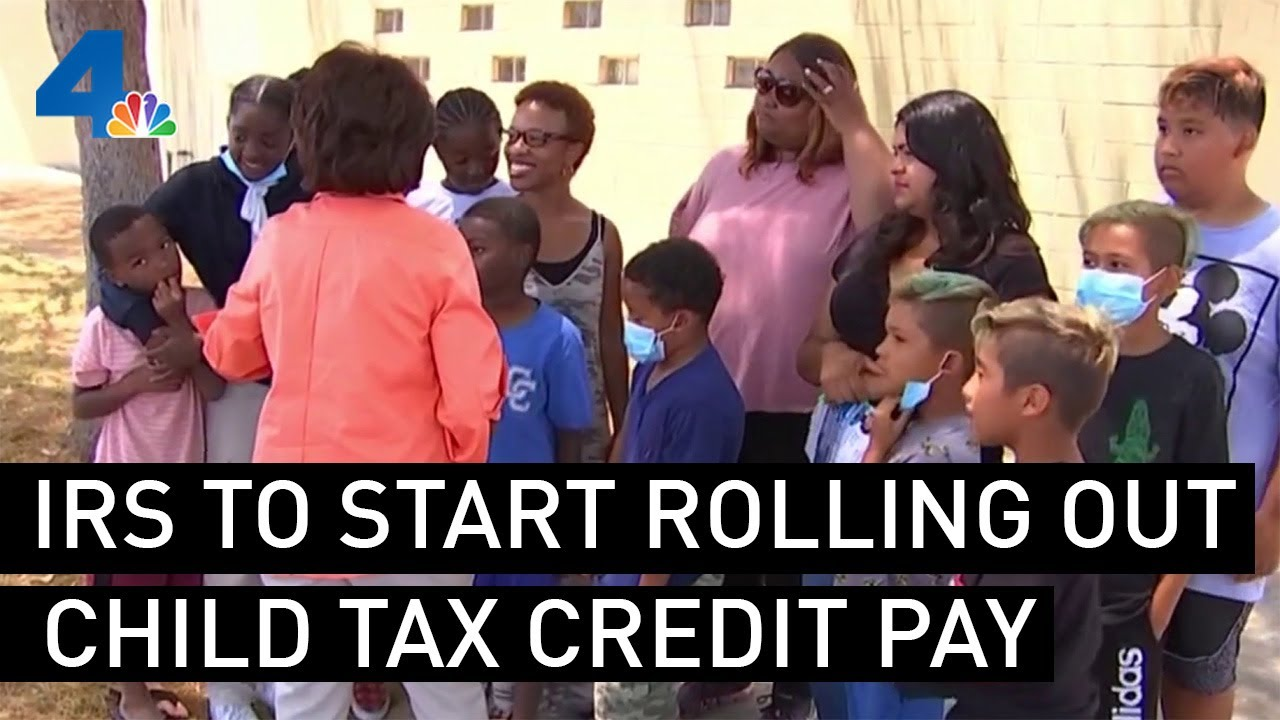 Child tax credit payments start this week. Here's how the IRS is ...