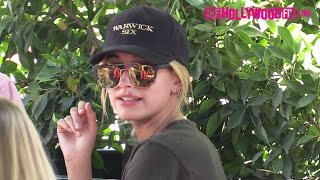 Hailey Baldwin Is Asked How She Feels About Justin Bieber Dating Sofia Richie At Urth Caffe
