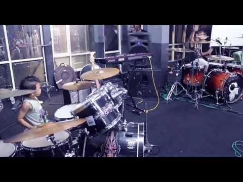 Linkin Park - Drum cover by Kevin Wijanarko featuring Ikmal Tobing