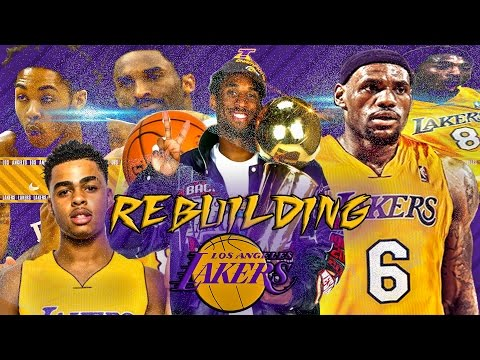NBA 2K16 MyLEAGUE: Rebuilding the LA Lakers w/ Young KOBE BRYANT!