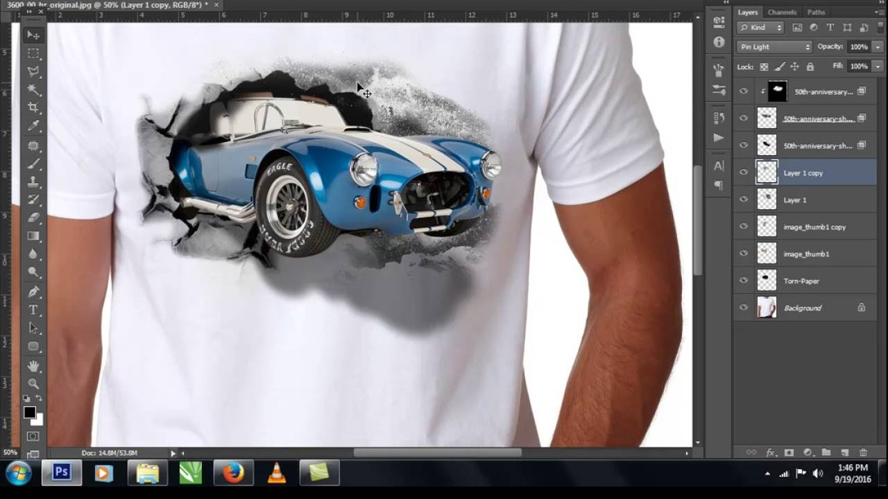 3d t shirt design tutorial youtube Design t shirt online