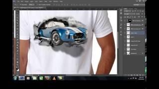 3D T-Shirt Design Tutorial