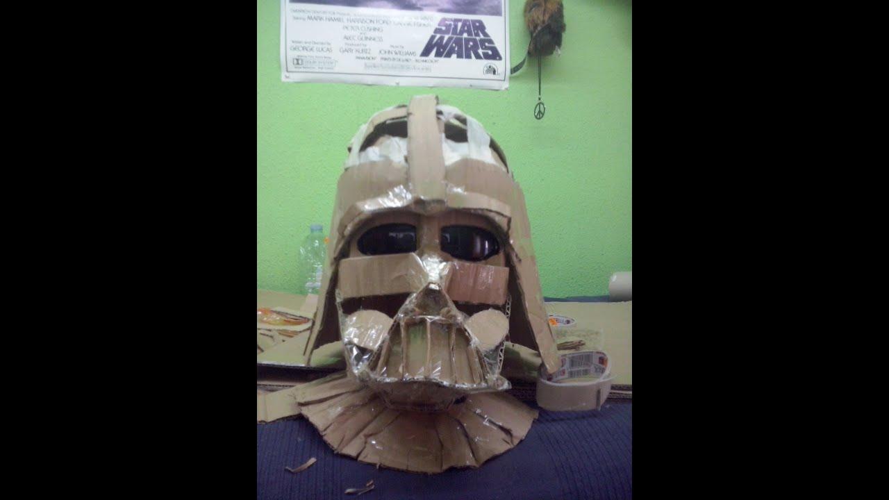 Cosplay Tutorial Darth Vader Helmet El Casco Y La Mscara Youtube
