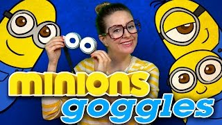 DIY Minions Goggles - Minions Crafts | Cool School Crafts With Crafty Carol