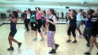 San Diego City College Cardio Kickboxing Fall 2012