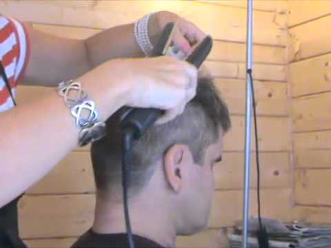 Peter Andre hair style creation