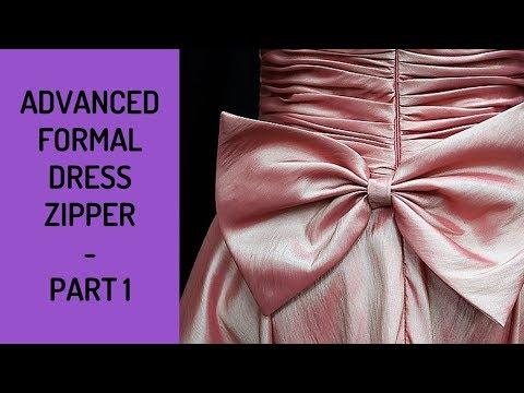 Advanced Formal Wear Zipper - Part 1