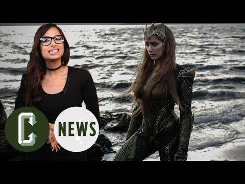 Justice League - Amber Heard as Mera Revealed! | Collider News