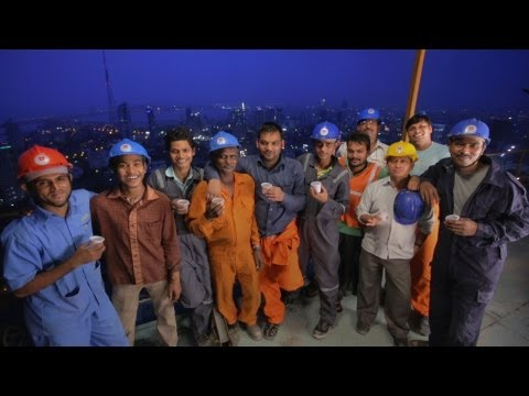 'Block by Block' - The men who built India's Tallest Building! [DOCUMENTARY]
