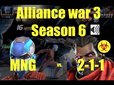 MCOC AW 3 season 6 : MNG vs. 2-1-1 : Path 8 + commentary thumbnail