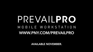 PNY PREVAILPRO MOBILE WORKSTATION - TEASER
