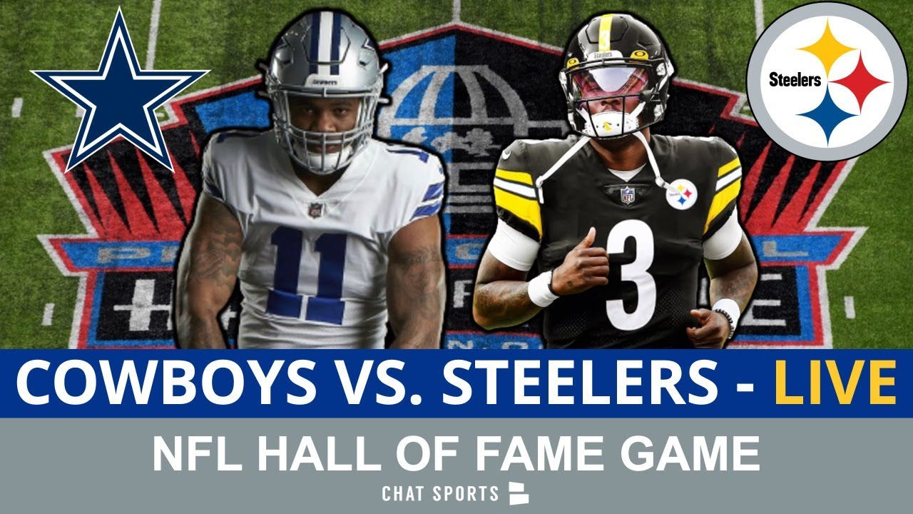 Download Cowboys vs. Steelers Live Streaming Scoreboard, Play-By-Play & Highlights   NFL Hall Of Fame Game
