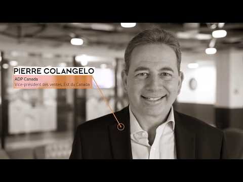 HR TECH Montréal 2020 / Entrevue avec Pierre Colangelo - ADP