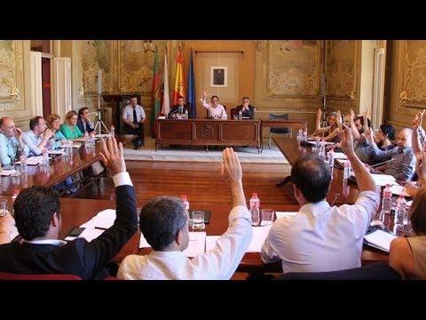 Sesion Plenaria Extraordinaria Ayuntamiento Torrelavega