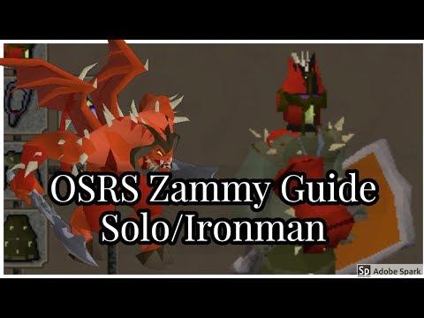 OSRS- Zamorak/K'ril Tsutsaroth Solo Boss Guide -Ironman