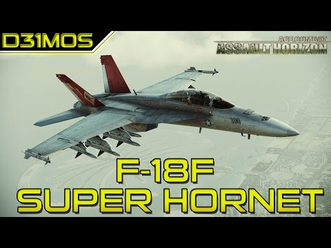 Ace Combat Assault Horizon: #5 F-18 SUPER HORNET e Traições!