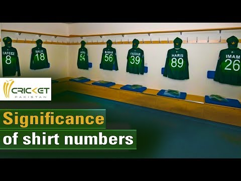 Pakistan Players And The Story Behind Shirt Numbers