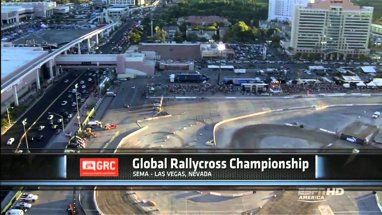Global Rallycross 2012 SEMA Las Vegas - Part 1/6