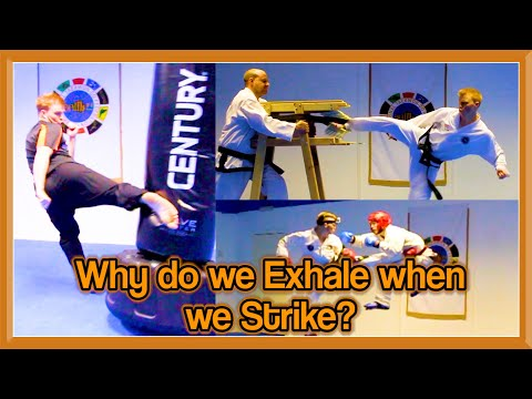Why do we Exhale when we Strike in Martial Arts? | GNT Q&A